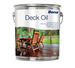 Bona Deck Oil