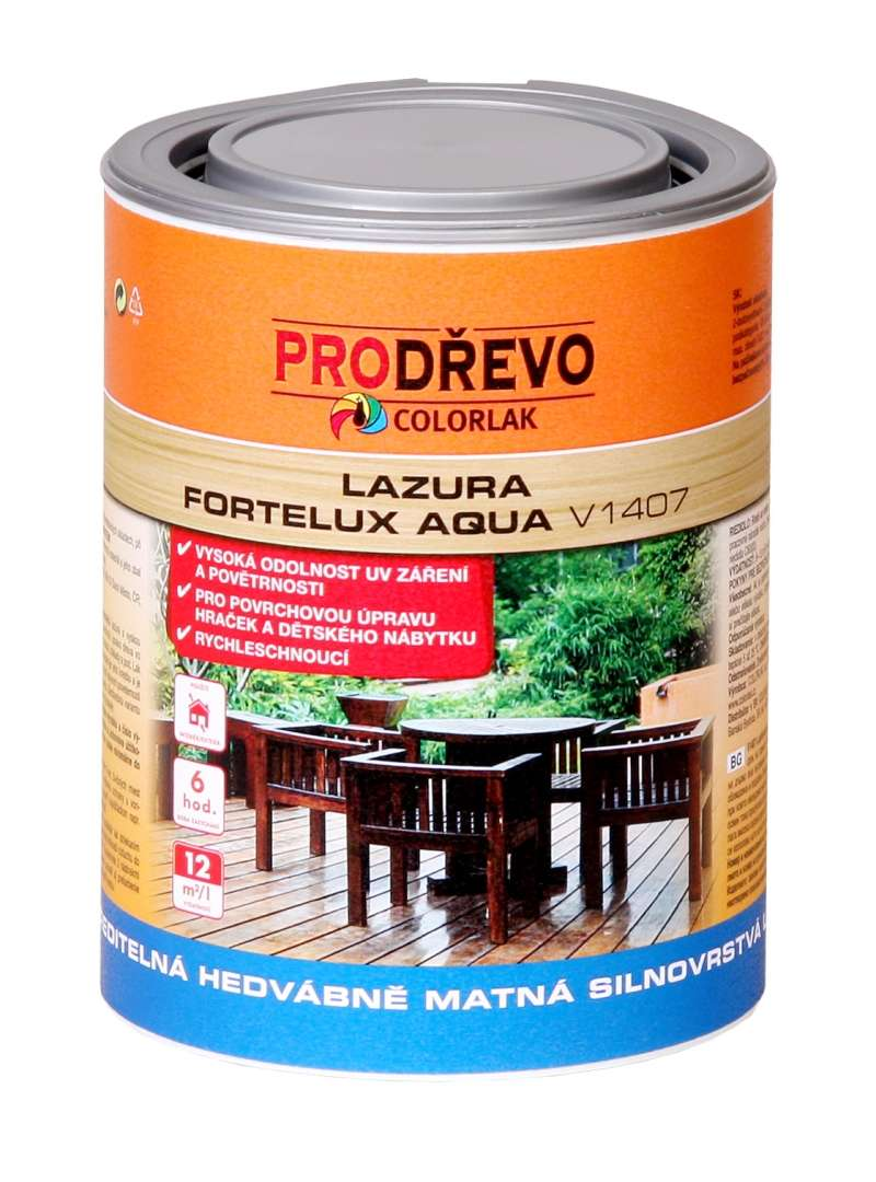 Levně Colorlak Fortelux Aqua V 1407 - 0000 bezbarvý 2,5 L