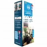 NANOPROTECH Windows & Mirrors Cleaner Home sada